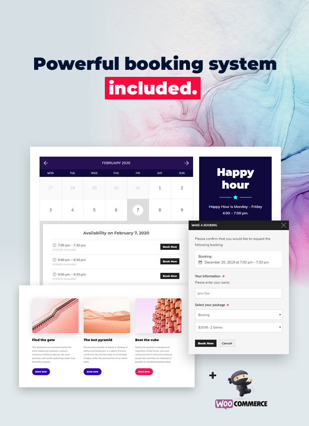 Activity Booking System