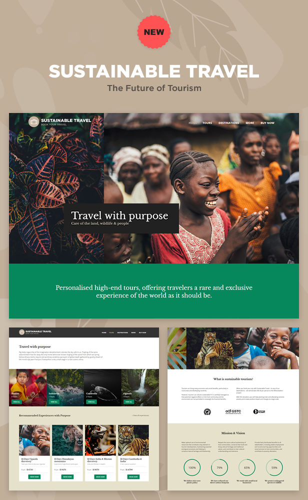 NEW: Sustainable Travel