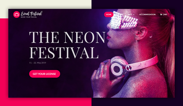 Event Festival WordPress Theme