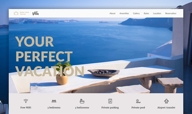 Villa WordPress Theme