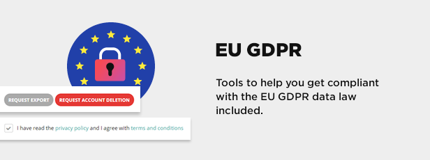 Tools for EU GDPR data protection law compliancy