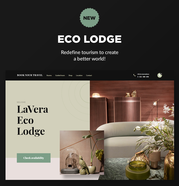 NEW: Eco Lodge