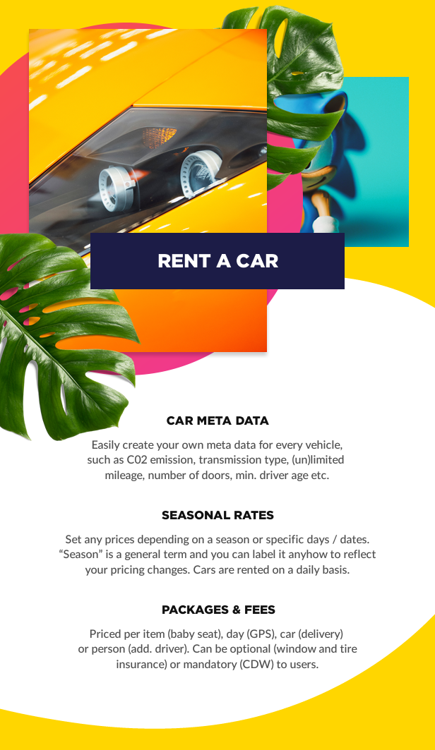 Rent a Car booking